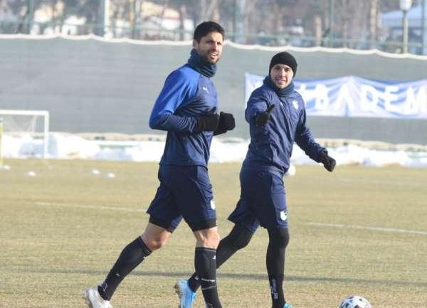 BB Erzurumspor MKE Ankaragücü hazırlıklarını sürdürdü