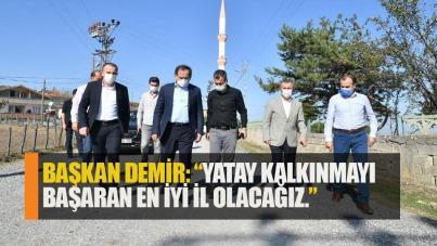 Başkan Mustafa Demir: Samsun yatay kalkınmayı başaracak