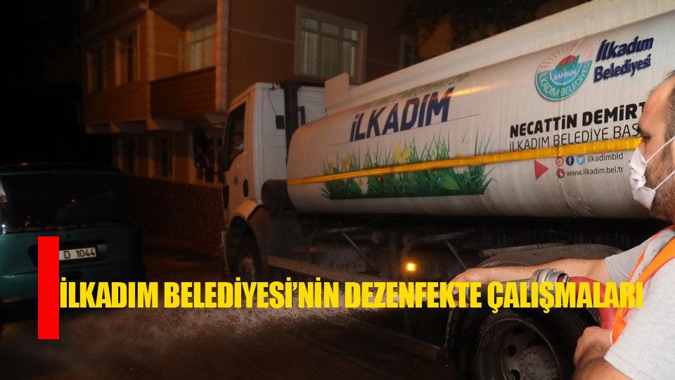 Samsun İlkadım Belediyesinden korona virüs tedbirleri