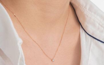 Sevgiliye en özel hediye pırlanta kolye tasarımları