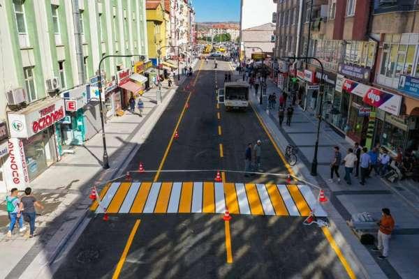 Aksaray Belediyesi 2020'de 95 bin ton sıcak asfalt serimi gerçekleştirdi