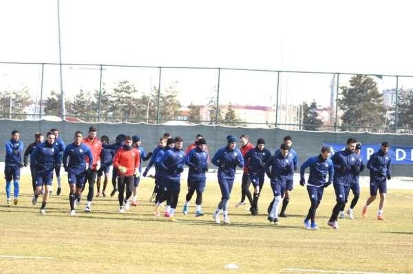 BB Erzurumspor, MKE Ankaragücü maçı hazırlıklarını tamamladı