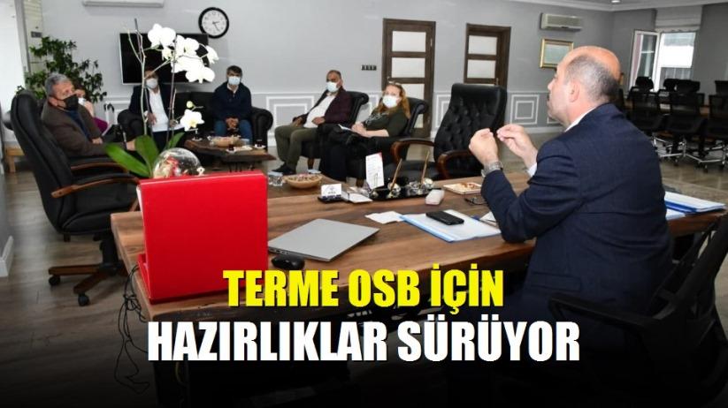 Terme OSB için hazırlıklar sürüyor