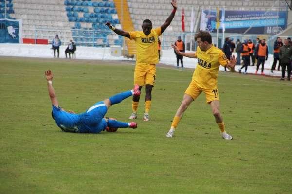 Süper Lig: BB Erzurumspor: 0 - MKE Ankaragücü: 0 (İlk yarı)