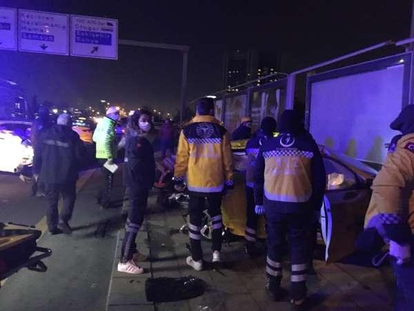 Ankara'da zincirleme kaza: 1 ölü, 5 yaralı