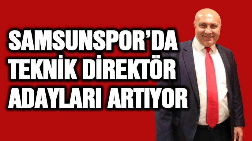 Samsunspor'da teknik direktör adayları artıyor