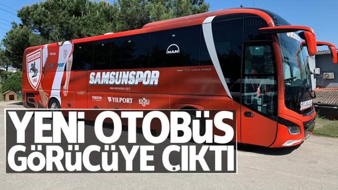Samsunspor'un yeni otobüsü görücüye çıktı!