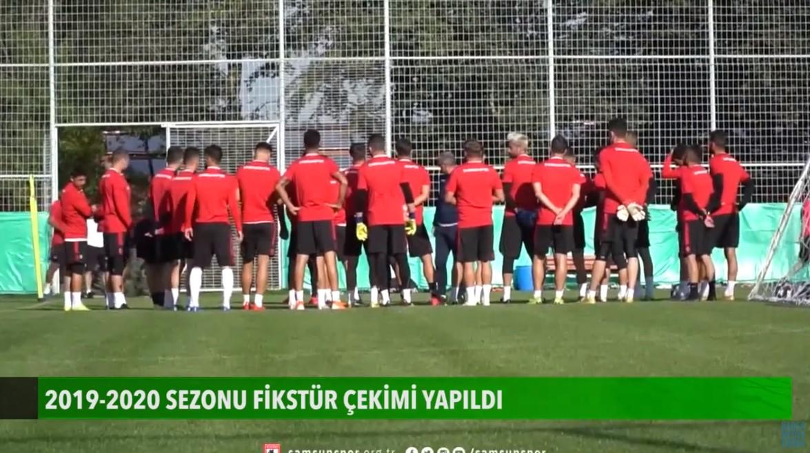 Samsunspor 2019-2020 fikstürü