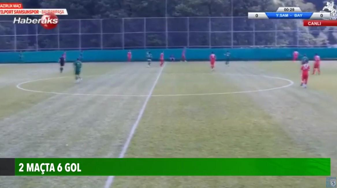2 maçta 6 gol Samsunspor'a yan bakılmıyor